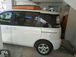 Grey n White colour Sienta 2010 model. KCP