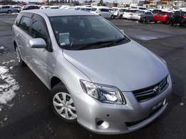 Toyota Fielder 2011 model - KCK 1500cc silver colour