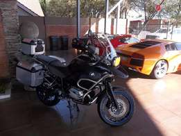 2012 BMW R1200 GS Adventure Tripple Black Edition