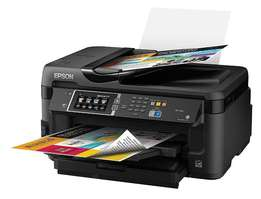 Brand New Epson WF-7610 A3 Printer with CISS refillable ink & WiFi