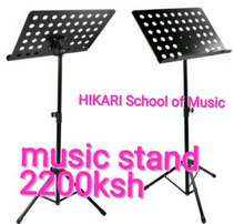 Mettalic Music stands