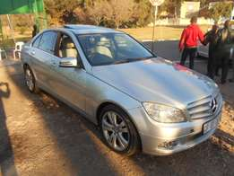 2010 Silver Mercedes Benz C200 Kompressor for sale