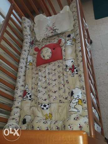 Baby Bed made from Wood