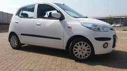 2010 Hyundai I10 1.2 GLS with only 66600kms good condition Contact TES