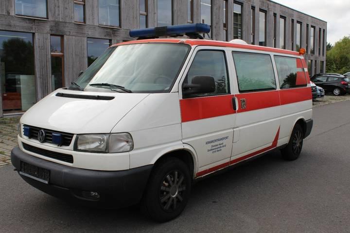 Volkswagen T4 Transporter Krankenwagen Krankentransport - 2002