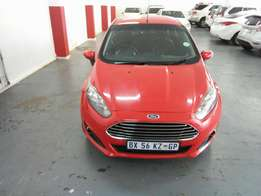 2013 Ford Fiesta 1.6, Color Red, Prince R125,000.