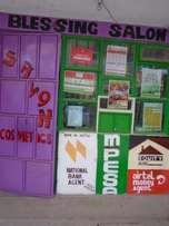 Busy saloon,kinyozi,m pesa and bank agencies for sale