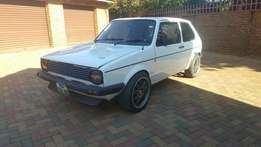 1981 Vw Golf mk1 rabbit 1.8 2 door for sale or swap.