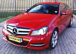 2012 MERCEDES-BENZ C250 Coupe A/T
