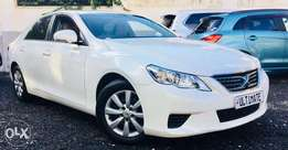 Toyota mark x white just arrived at 1,550,000/=