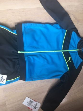 Cena fabryczna sportowa odzież sportowa sprzedaż online NOWE Dresy PUMA dla dzieci spodnie + bluza rozpisana Roz. 2 ...