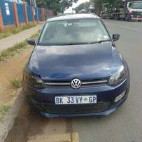 2011 Volkswagen Polo 6 1.4 leather seat for R99000.00