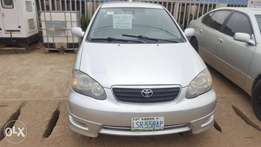 Very clean Toyota corolla sport 2007 model for sale and affordable
