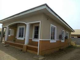 A beautiful 3 bedroom bungalow for sale in an Estate in wumba Apo