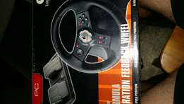 Logitech USB Steering wheel and pedals