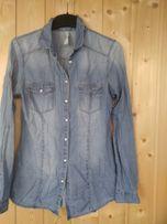 Koszula jeansowa Levi's dżinsowa roz. M Zblewo • OLX.pl