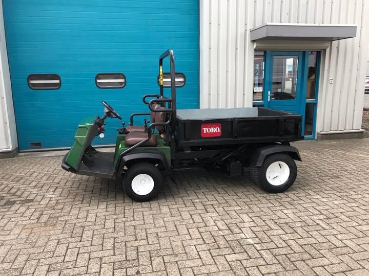 Toro WORKMAN 3300-D, 4x4 / AWD Kipper, Tuin tractor