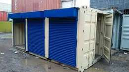 Container stalls 20ft