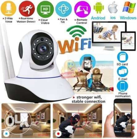 IP camera Support Phone View, Night Vision 1$=1500 L.L
