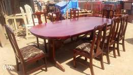 8-10 seaters pure mahogany dining table