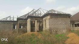 Uncompleted building for sale at N20m in Idu-Sabo, Abuja