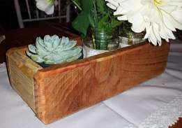 Flower boxes or displays for plants