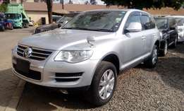 Vw Touareg silver, leather, sunroof, 3200cc v6 petrol, kch, 2009