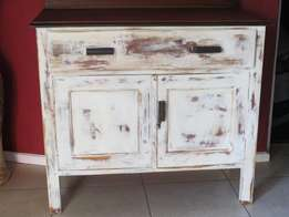 Restored Cupboard/server (distressed finish)