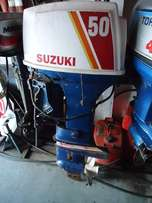 50 hp Suzuki long shaft motor