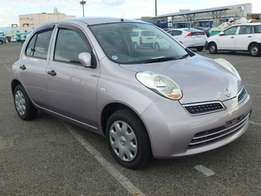 2009,Nissan March Foreighn used and super clean.