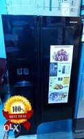 Used Samsung Side-by-side Fridge with Ice Maker and Dispenser