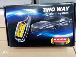 Two way car alarm system 1000m