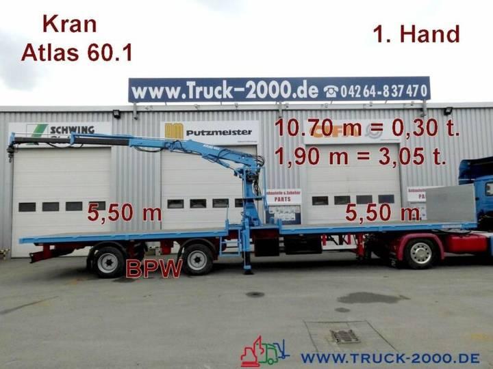Kramer Atlas 60.1 Kran SpezialTransport f.Container usw - 1996