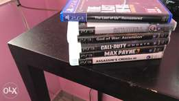 PS3 games for sale and Ps4 games