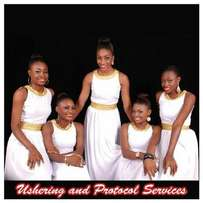 Elegant ushering and protocol services agency