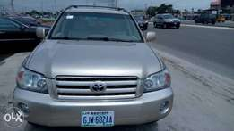 Clean Registered Toyota Highlander V6 4WD 2006 Model In Superb Conditi