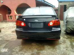 Clean tokunbo Toyota corolla 2003 sport accident free