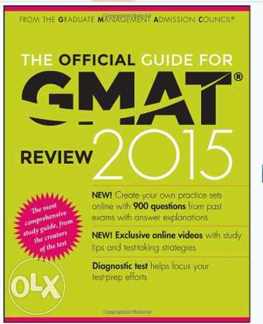 The Official Guide for GMAT, Quant & Verbal Review 2015 (3 books)