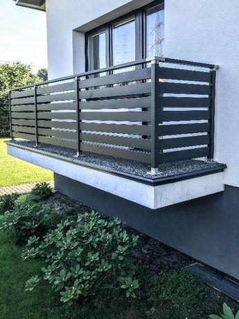 Modish Balustrada balkonowa barierka nowoczesna do montaż balkon poręcz SQ23