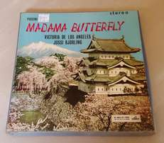 Vynil Record Book Madame Butterfly J1397