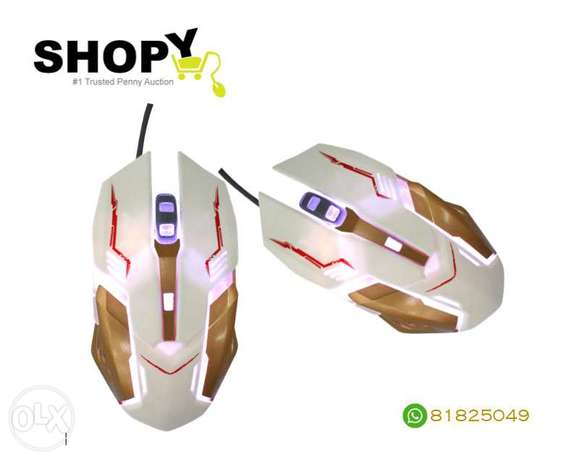 WiredMouse Souris Gamer Simple SPIDER X3 GM900