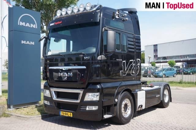 MAN TGX 18.680 4X2 BLS Intarder - 2012