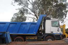 Tippers 10m3 for hire