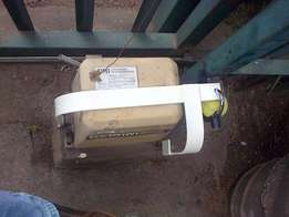 Anti theft bracket for gate motor build at your premises.