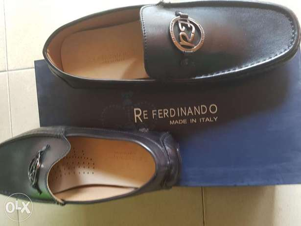 Black leather drivers.size 42. Ibadan South West - image 1