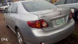 Toyota Corolla 2009 Model Registered