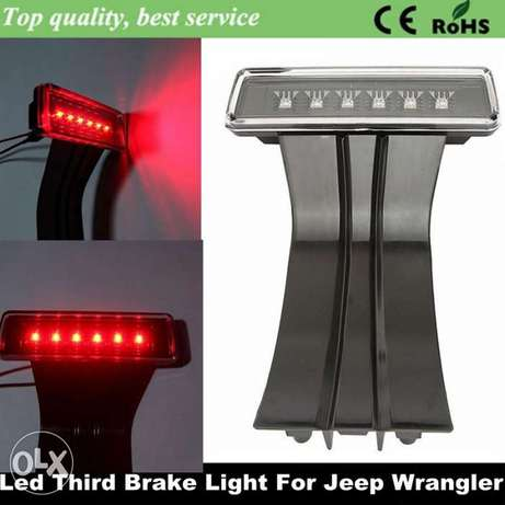 jeep wrangler third brake light LED