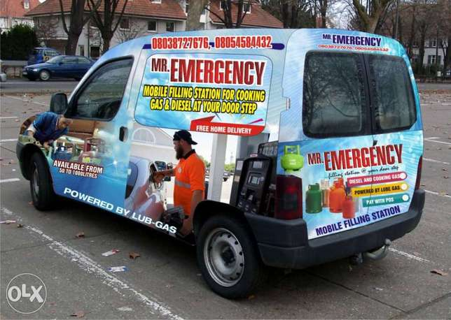 Mobile Van delivery for your Cooking Gas/Diesel Kubwa - image 1