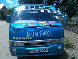 A matatu on sale well maintained single owner diesel engine bigger bod