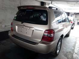 Toks 2005 Toyota Highlander Limited Edition 3row Seat